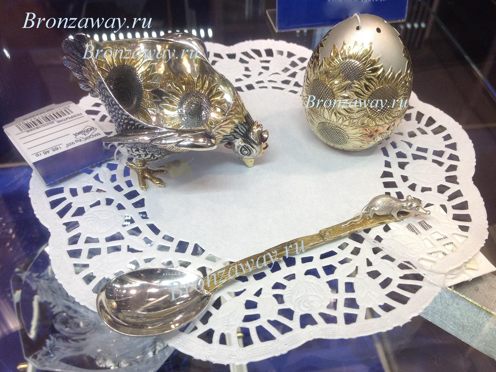 Vip подарки из серебра